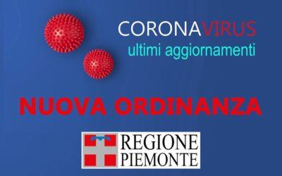 Ordinanza restrittiva della Regione Piemonte
